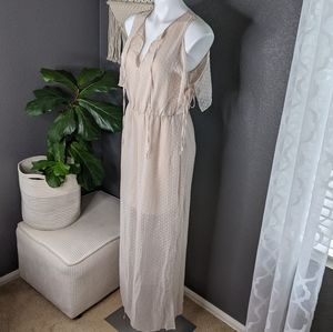 Charles Henry Light Pink Long Dress